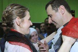 Asadův Instagram: Jaká válka? V Sýrii je hezky