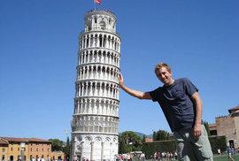Šikmá věž v Pise.