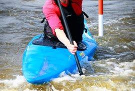 Lukáš Pollert se věnoval vodnímu slalomu a kanoistice.