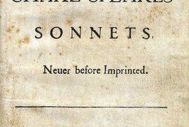 Titulní strana Sonetů