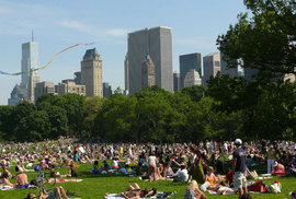 3. Central Park – ukázalo se, možná trochu překvapivě, že ze všech míst v New Yorku je nejčastěji přidávaným místem Central Park. Kdo by se nechtěl pochlubit, že se nachází v samém srdci Big Applu?