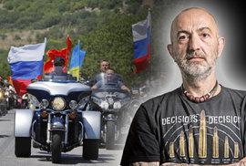 Videoblog: Jiří X. Doležal má starost o Putinovy motorkáře