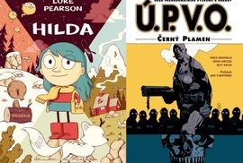 Komiksy s magickými bytostmi pro děti i pro dospělé
