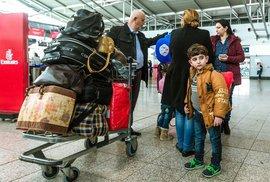 Odlet iráckých křesťanů z Prahy