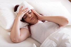 Při migréně člověk touží zalézt si do temné místnosti, do postele, kde je ticho, a celou bolest zaspat.