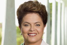 Dilma Rousseffová je prezidentkou od roku 2011, v roce 2014 byla zvolena znovu