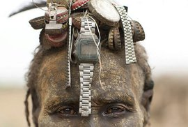 Kmen Dassanech z etiopského Omo Valley