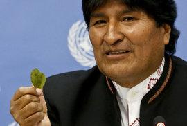 Jak z telenovely: Prezident Bolívie Morales se podrobí testu otcovství