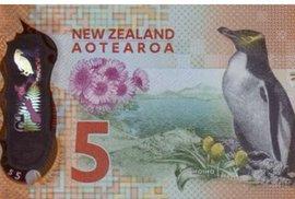 Bankovkou roku je pětidolarovka z Nového Zélandu