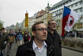 Předseda Národní demokracie Adam B. Bartoš