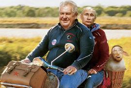 Hrad doufá, že Zeman ještě letos navštíví Rusko