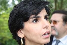 Rachida Datiová, ministryně spravedlnosti za Nicolase Sarkozyho.