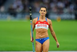 Ani ruská skokanka o tyči Jelena Isinbajevová se do Ria nepodívá