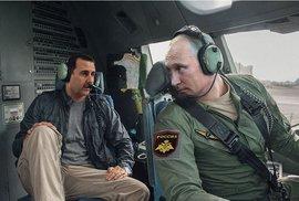 Vladimir Putin jako hrdina kalendářů.