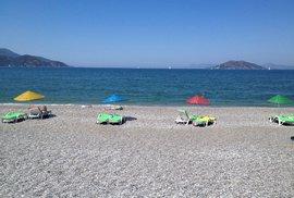 Vyprázdněné turecké pláže...