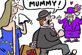 Krysy, p*dele a Jon Snow: Charlie Hebdo si nenechalo ujít brexit
