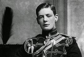 1895 - Vzácná fotografie mladého Winstona Churchilla