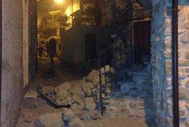 Itálii zasáhlo ničivé zemětřesení