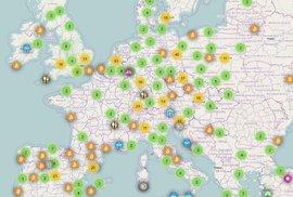 Kde je v Evropě možné platit bitcoinem