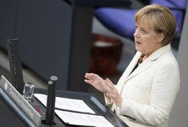 Kancléřka Merkelová přiznala chyby Německa a EU během uprchlické krize
