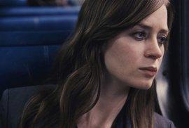 Dívka ve vlaku.