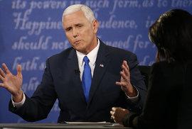 Republikánský kandidát na viceprezidenta Mike Pence