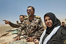 Reportáž o ženě, která vaří v kotli hlavy nepřátel a děsí Islámský stát
