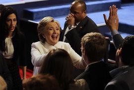 Debata amerických kandidátů na prezidenta