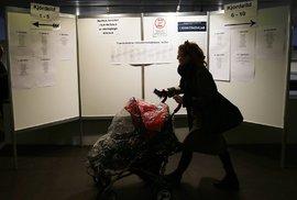 Volební místnosti na Islandu