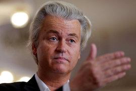 Tvrdý kritik islámu a EU, Geert Wilders, vede dva měsíce před volbami v Nizozemsku