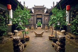 Severočínské městečko Pching-jao