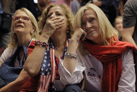 Radost příznivců Trumpa a zděšení u demokratů, tak zatím vypadají volby v USA