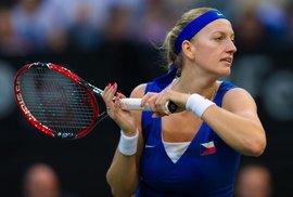 Bez kouče je také česká tenisová dvojka Petra Kvitová.