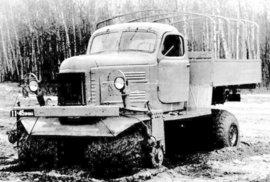 ZIL-132C na zkráceném šasi ZIL-157K s kabinou ZIL-164