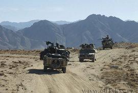 601. skupina speciálních sil z Prostějova se v Afghánistánu.