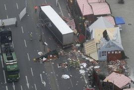 Teroristický útok v Berlíně.