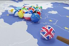 Většina Britů podporuje tvrdé plány na odchod země z EU, Češi žijící na ostrovech se…