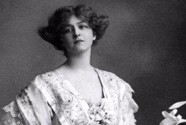 Anglická herečka, zpěvačka a tanečnice Gabrielle Ray (1883 – 1973).