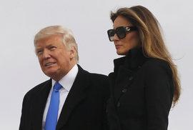 Donald Trump s manželkou
