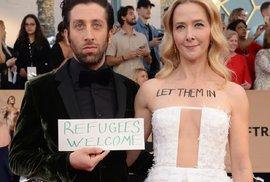 Hollywood opět válčí s Trumpem. Předávání hereckých cen se zvrhlo v masívní protestní…