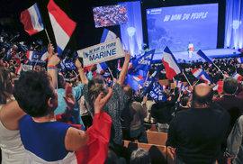 Marine Le Penová zahájila prezidentskou kampaň.