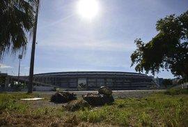 Drsné probuzení: Mnohá sportoviště olympiády v Riu leží ladem a chátrají