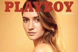 Titulni strana březnového čísla časopisu Playboy.