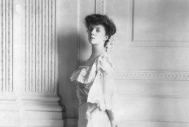 Alice Rooseveltová, nejstarší dcera amerického prezidenta Theodora Roosevelta.