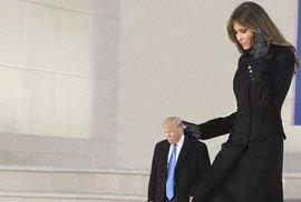 Jediná fotogalerie Donalda Trumpa, kterou musíte vidět. Donald Trump jako maličký…