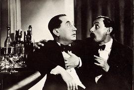 Vefilmu Upokladny stál  se vroce 1939 sešel Marvan sVlastou Burianem. Herecká souhra kolegů zBurianova divadla byla mimořádná, jejich osobní vztah měl záhy ochladnout.