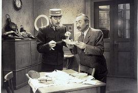 Přednosta stanice– rok 1941. Vprotektorátu přituhovalo, filmoví diváci se váleli smíchy.