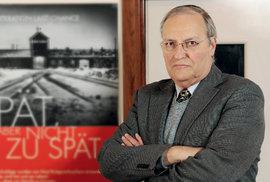Efraim Zuroff, lovec nacistů: Nacistickým zločincům přeji pevné zdraví, aby mohli před soud