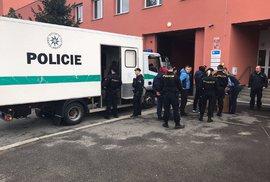 Policie zasahuje ve skladu firmy Rohlik.cz