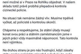 Rohlik.cz zastavil objednávky